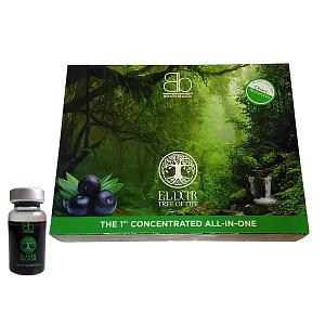 Ботокс для волос со стволовыми клетками ягоды Асаи Elixir Tree of Life (12 ампул по 10 мл) - от 30 до 50 процедур